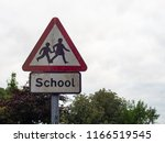 A Dirty School Warning Sign Uk