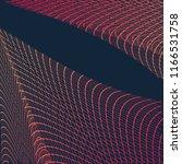 abstract communication network...   Shutterstock . vector #1166531758