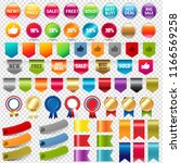 big collection sale stickers... | Shutterstock . vector #1166569258