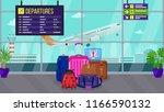 flat vector illustration ... | Shutterstock .eps vector #1166590132
