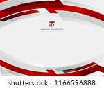 abstract technology geometric... | Shutterstock .eps vector #1166596888
