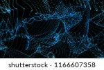 colorful background of flowing... | Shutterstock . vector #1166607358