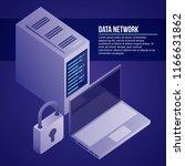 data network card | Shutterstock .eps vector #1166631862