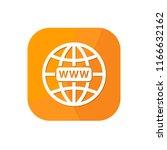 flat world globe browser app...   Shutterstock .eps vector #1166632162