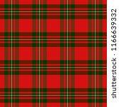 macgregor tartan pattern.... | Shutterstock .eps vector #1166639332