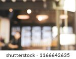 blurred background from coffee... | Shutterstock . vector #1166642635