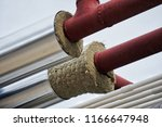pipe insulation jackets for hot ... | Shutterstock . vector #1166647948