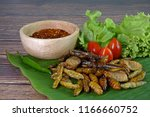mixed crispy salted and spicy... | Shutterstock . vector #1166660752