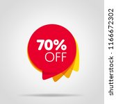 special offer sale red tag... | Shutterstock . vector #1166672302