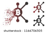 bitcoin full node icon in... | Shutterstock .eps vector #1166706505
