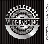 wide ranging silvery emblem | Shutterstock .eps vector #1166756932