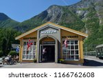 flam railway museum.station old ... | Shutterstock . vector #1166762608