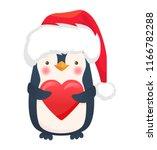 Penguin With Heart. Penguin...