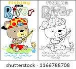 vector of coloring book or page ... | Shutterstock .eps vector #1166788708