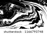 black and white liquid texture. ... | Shutterstock .eps vector #1166793748