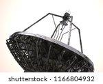 silver and black satellite dish ... | Shutterstock . vector #1166804932