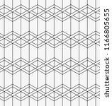 vector seamless pattern.... | Shutterstock .eps vector #1166805655