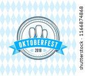 beer festival oktoberfest... | Shutterstock .eps vector #1166874868