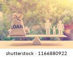 family finance   financial loan ... | Shutterstock . vector #1166880922