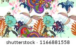 original trendy seamless... | Shutterstock .eps vector #1166881558