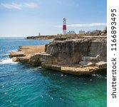 Portland Bill Lighthouse With...