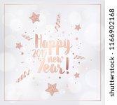 elegant merry christmas card... | Shutterstock .eps vector #1166902168