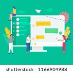 vector illustration concept... | Shutterstock .eps vector #1166904988