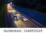 View Of Traffic Car Lights On A ...
