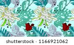 original trendy seamless... | Shutterstock . vector #1166921062