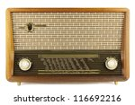 old radio | Shutterstock . vector #116692216