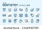 dentistry vector icon   Shutterstock .eps vector #1166930785