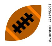 vector american football ball... | Shutterstock .eps vector #1166953075