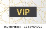 abstract gold geometric shapes... | Shutterstock .eps vector #1166964022