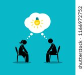 Man And Woman Have Common Idea...