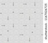 simple seamless vector... | Shutterstock .eps vector #1167026725