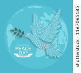 international peace day...   Shutterstock .eps vector #1167065185