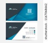 business card vector background | Shutterstock .eps vector #1167068662