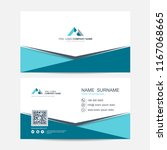 business card vector background | Shutterstock .eps vector #1167068665