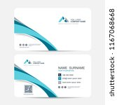 business card vector background | Shutterstock .eps vector #1167068668