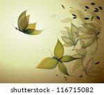 Autumn Leaves Like Butterflies...