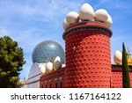 spain  catalonia  figueres ... | Shutterstock . vector #1167164122
