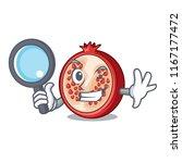 detective slice of ripe... | Shutterstock .eps vector #1167177472
