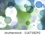 abstract blue and green tone... | Shutterstock . vector #116718292