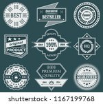 premium quality labels. set of... | Shutterstock . vector #1167199768