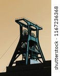 Old Mining Tower In The Ruhr...