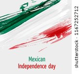 mexican independence day... | Shutterstock . vector #1167252712