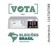electronic ballot icon for...   Shutterstock .eps vector #1167267088