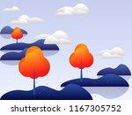 template vector illustration.... | Shutterstock .eps vector #1167305752