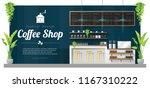 interior background   modern... | Shutterstock .eps vector #1167310222
