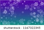 snowflakes christmas background....   Shutterstock .eps vector #1167322345